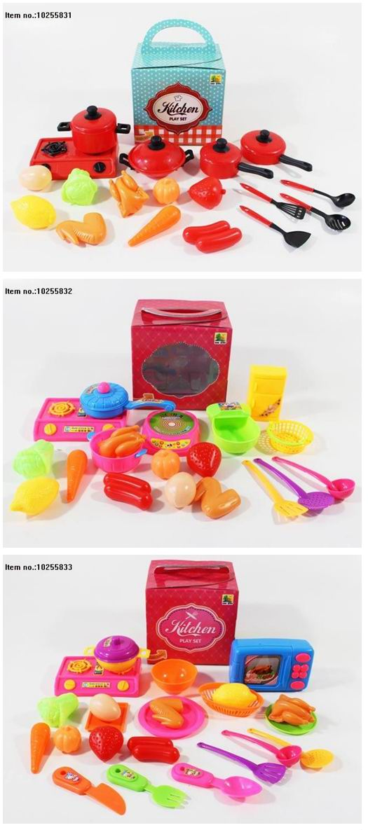 Colourful Kitchen Play Set Toys for Children
