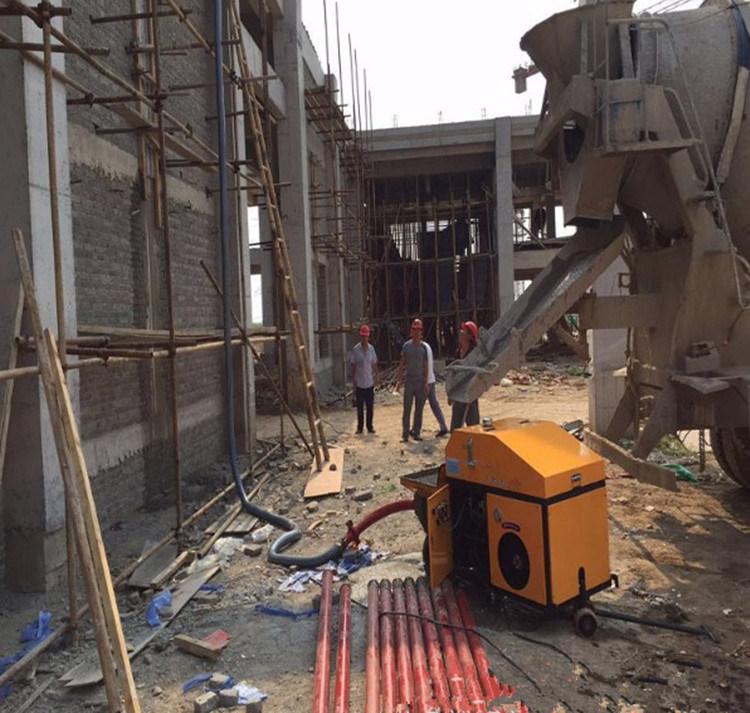 15kw Horizontal Concrete Secondary Structure Column Pump