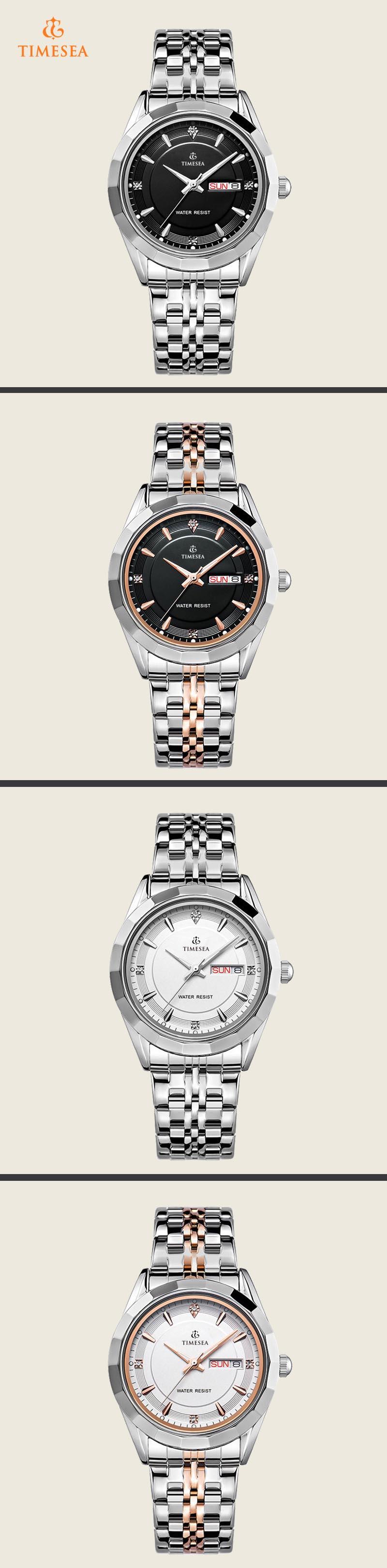 Mens Steel Display Analog Quartz Watch Wrist Gift Watch72370
