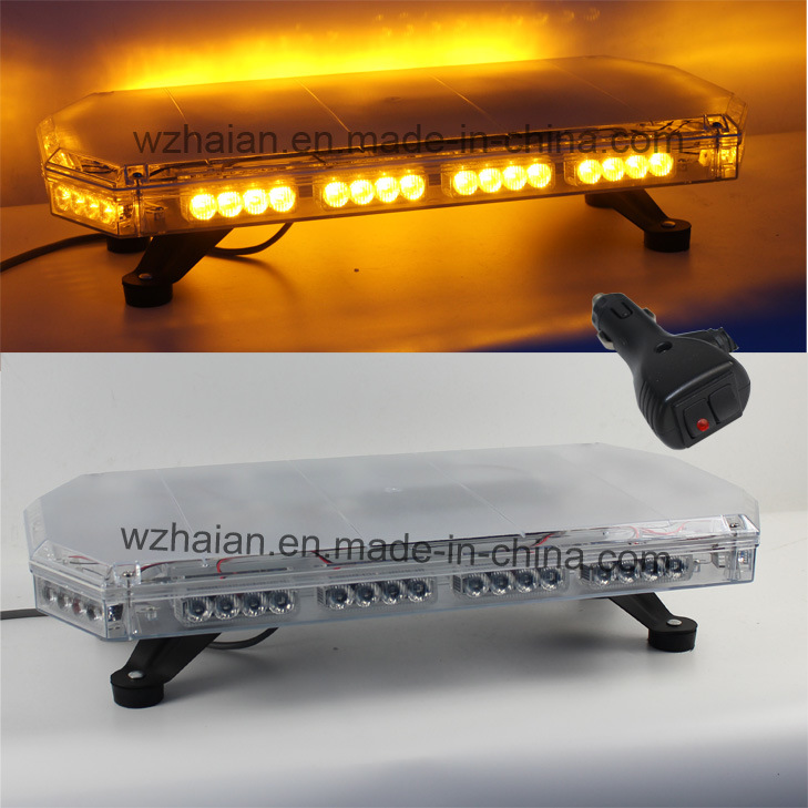 Amber Police Fire Recovery Mini Flash LED Lightbar (TBG-810C-06-A)
