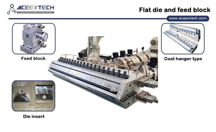 PVC ASA PMMA Colonial Tile Production Machine