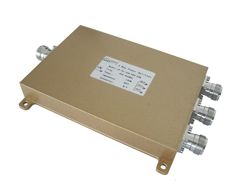 GSM/FM/UHF/UMTS Microwave 300-960MHz 3 Way Power Divider (Power Splitter)