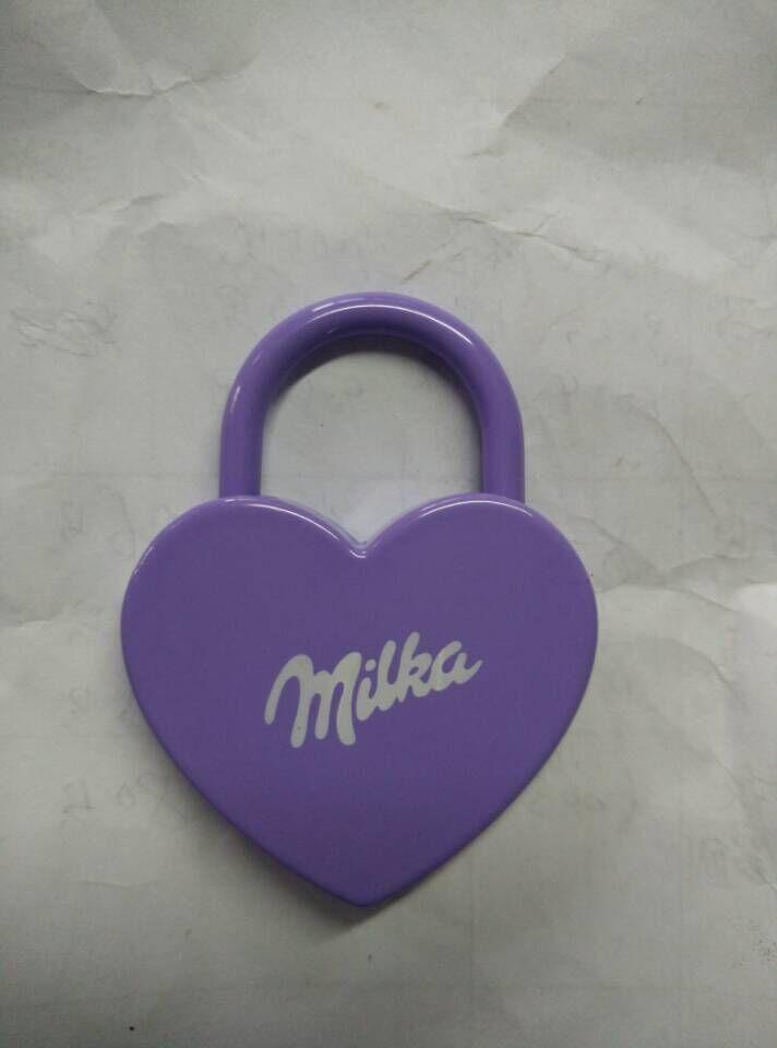 Christmas Gifts Lock, Key Padlock, Zinc Padlock, Al-K030