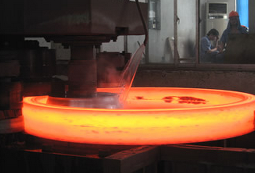 Gcr15 Forged Round Shaft