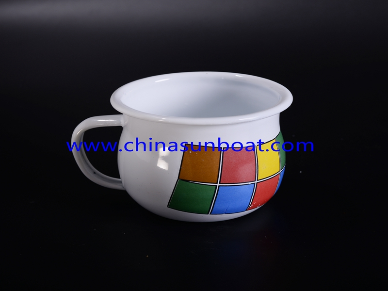 Enamel Simple Water Coffee Mug