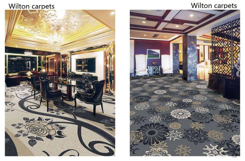 Luxury Living Room Broadloom Wool Carpet