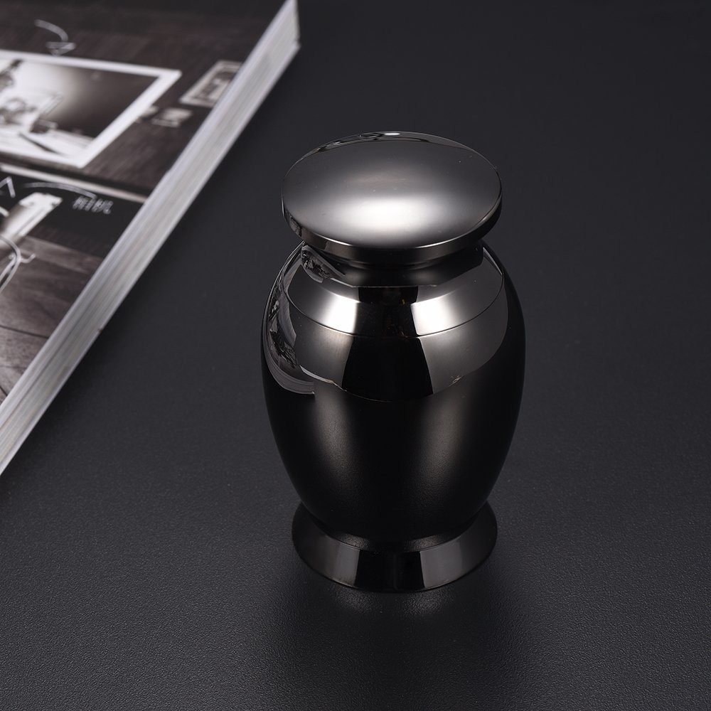 Engravable Stainless Steel Pet Memorial Urn Human Mini Cremation Urn