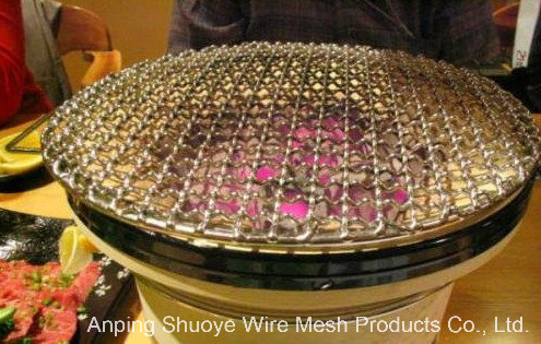 Korea Style BBQ Red Copper Grill Netting