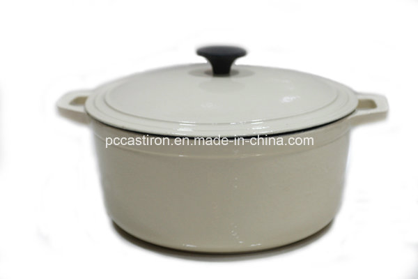 LFGB Approved Cast Iron Cocotte with Enamel Finish China