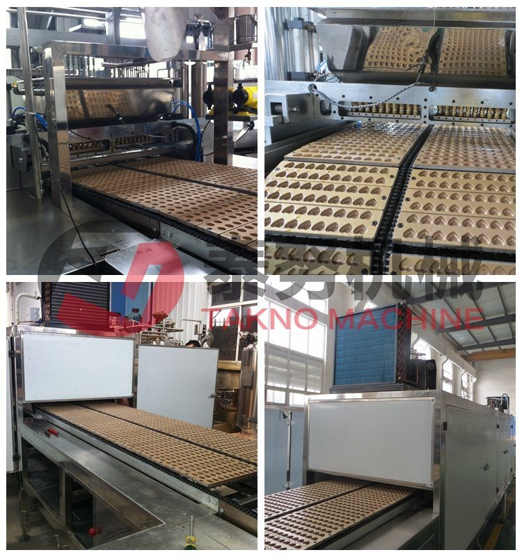 Complete Automatic Hard Boiled Candy Machines