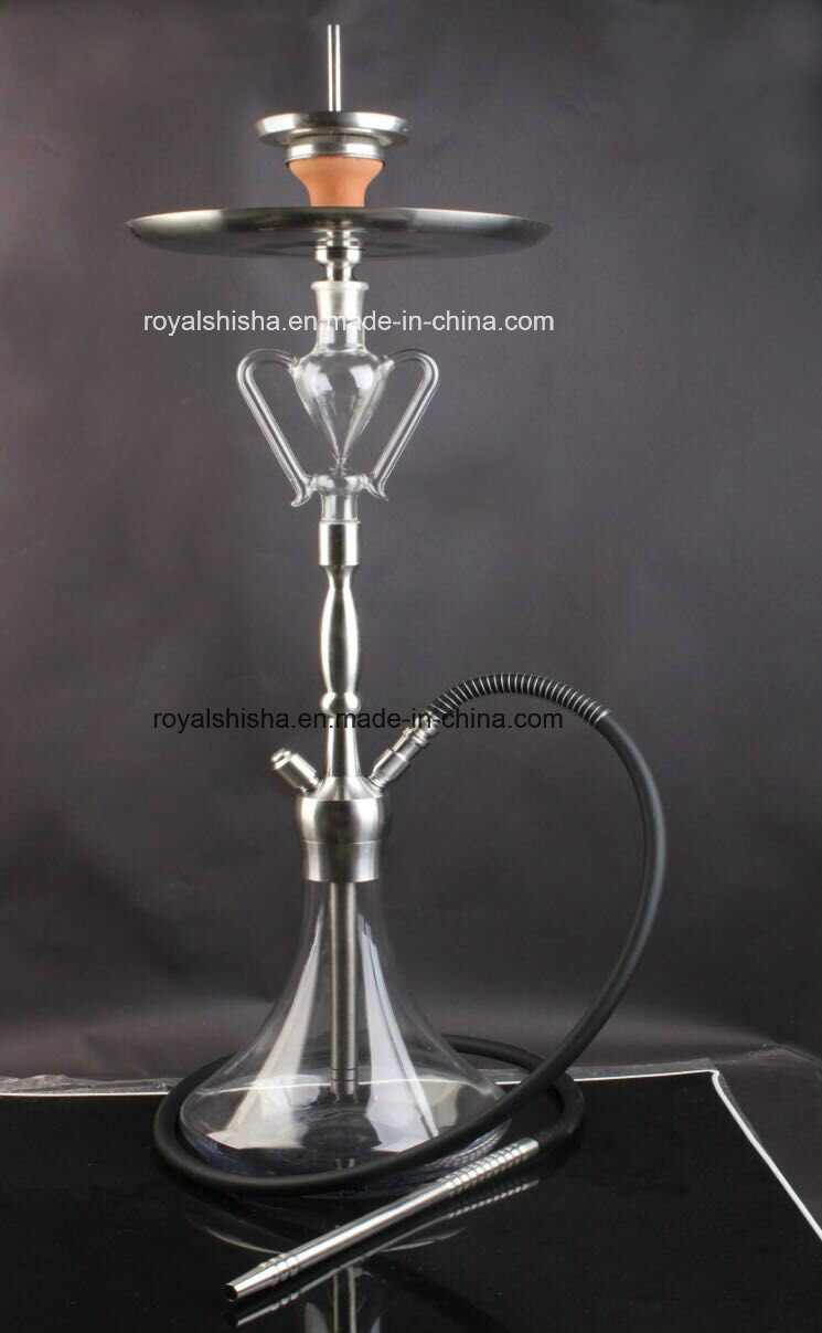 New Design Stainless Steel and Glass Parts Shisha Hookah