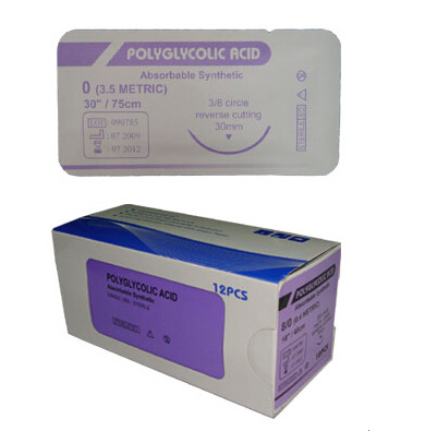 Polyglycolic Acid Suture (PGA) with Ce and ISO