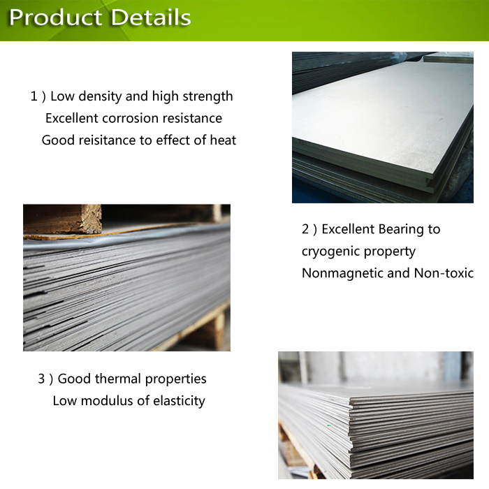 ASTM/ASME Titanium and Titanium Alloy Sheet