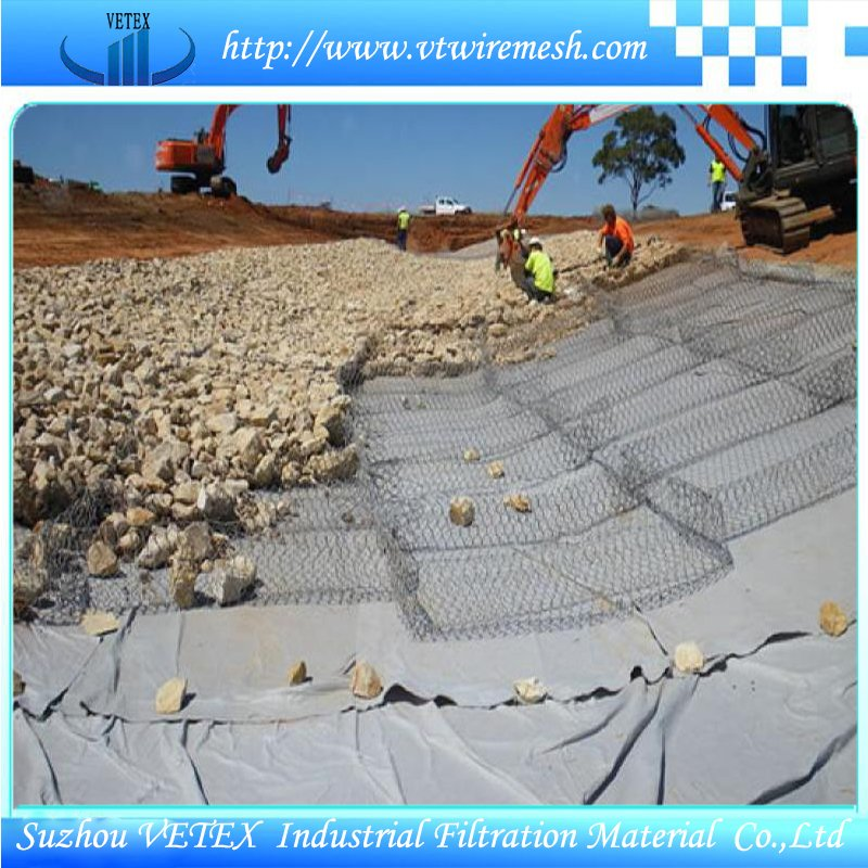 PVC Coated Gabin Wire Mesh for Construction & Decoration