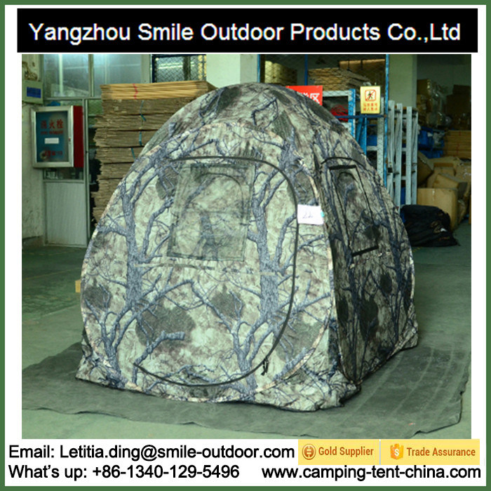 Under The Weather Outdoor Works Camo Hunting Blind Tent