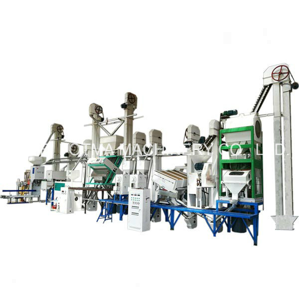 30-40t/Day Small Rice Milling Equipment