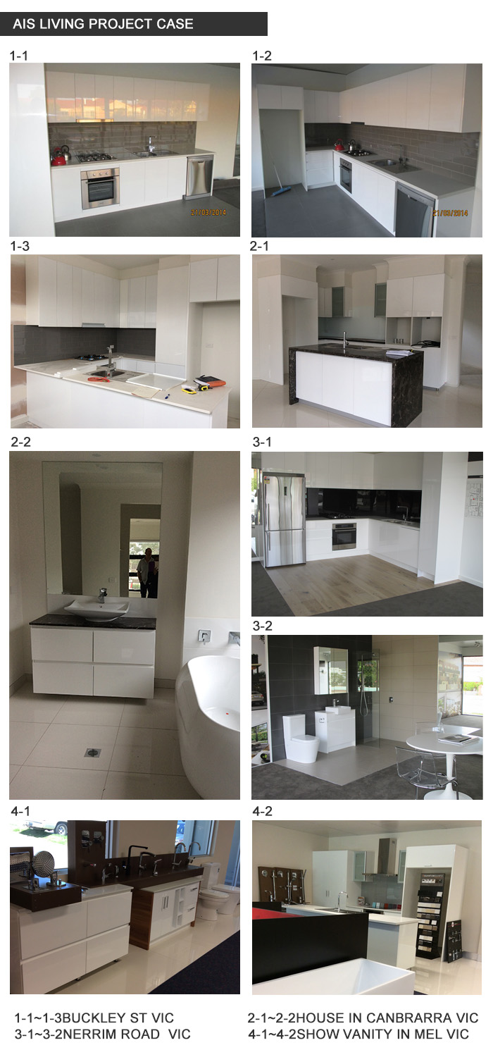 Whole Easy Assemble kitchen Cabinets Sets China Professional Factory for Small Apartment (AIS-K947)