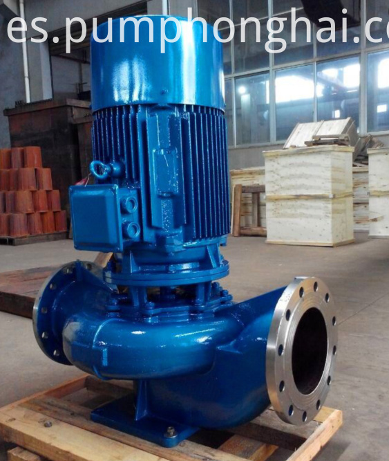 ISG Vertical Water Pumps