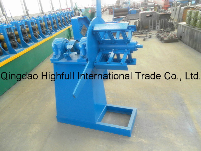 PLC Controled Automatic Vegetable Greenhouse Gutter Roll Forming Machine