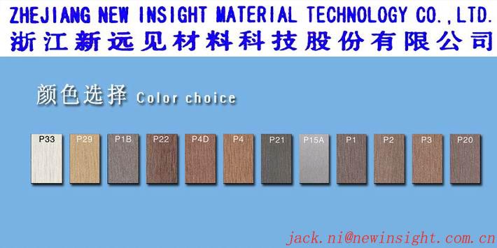 137*23mm Waterproof Interlocking Wood Plastic Composite Decking
