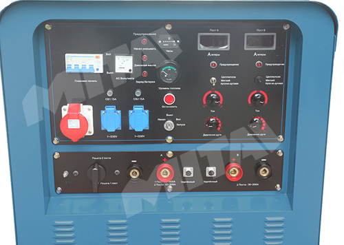 400A 18kw Heavy Duty Engine Driven Welder