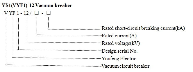 Vs1-12 (Fixed sealing type and Fixed Type) High-Voltage Vacuum Circuit Breaker