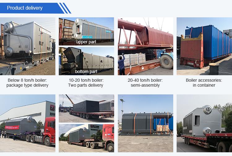 20 ton/h Coal Biomass Fired Industrial Steam Boiler