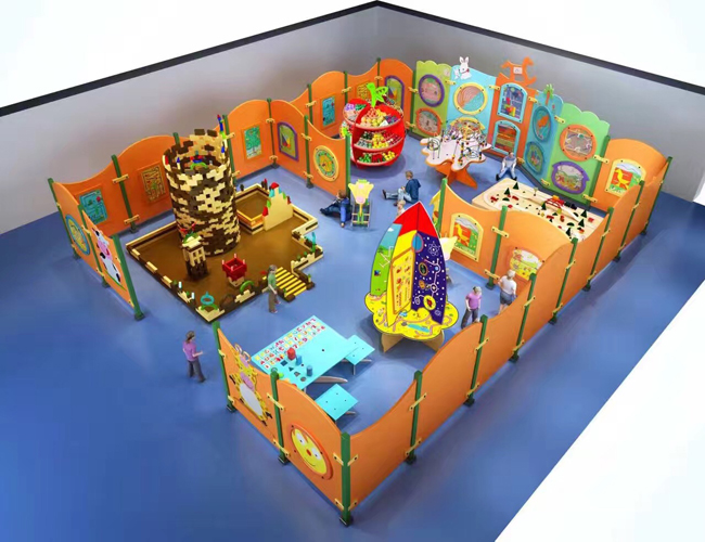Wonderful ASTM Standard Wooden Play Toys for Children on Wall
