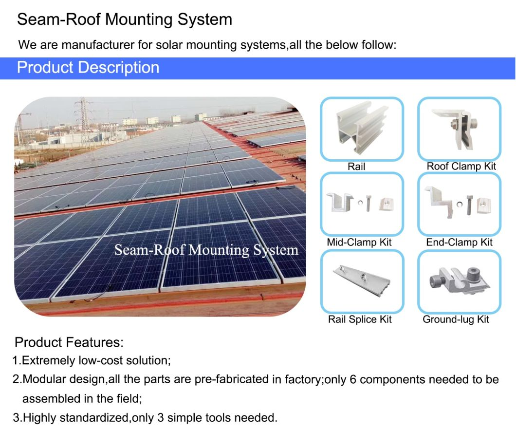 Aluminum Rail Solar Kit Solar Mounting Other Solar Energy Related Products