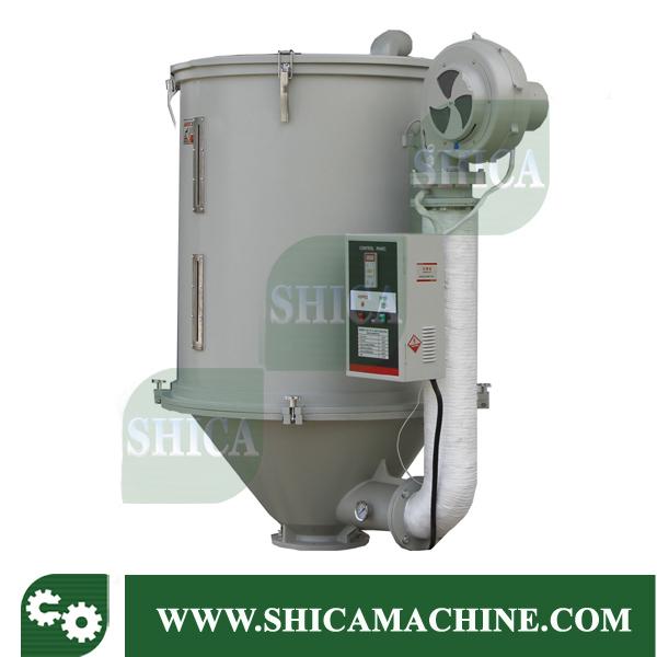 Hot Sale Plastic Granules Hot Air Dryer with Hopper
