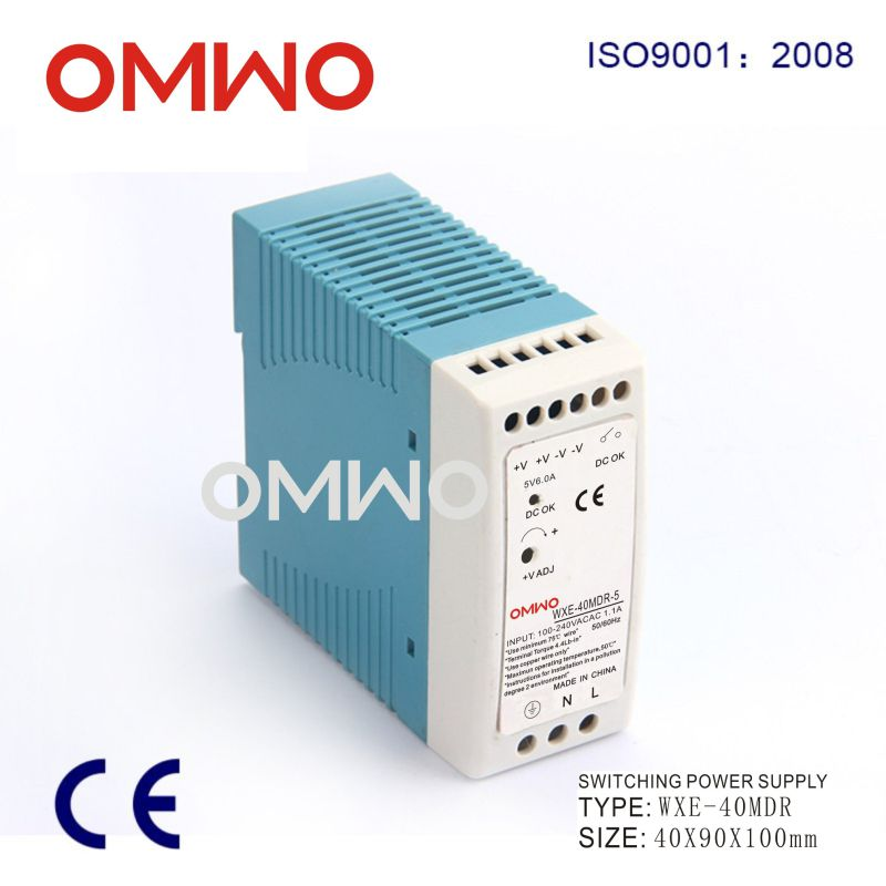 Wxe-Mdr40-12 DIN Rail Output LED Driver Switching Module Power Supply