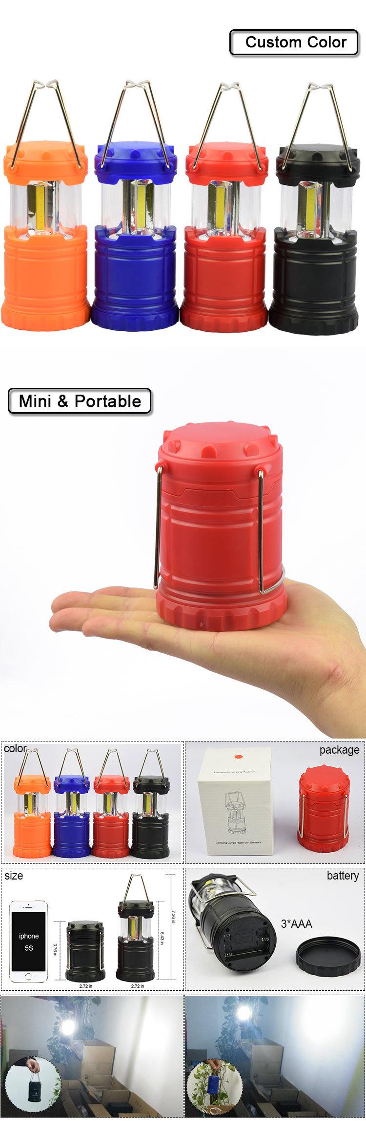 Portable Tent Lamp LED Mini Camping Lantern