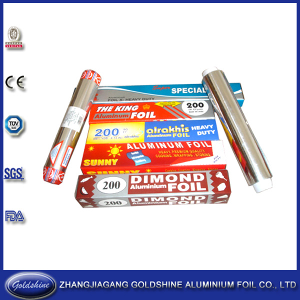 Competitive Price Household Aluminium Packaging Foil