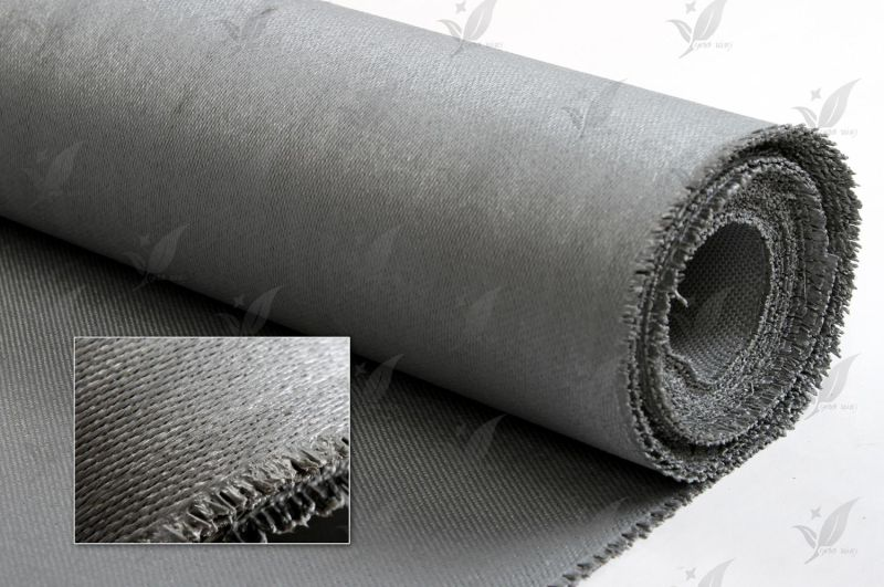 Silicon Coated Fiberglass Fabric Gray Colour