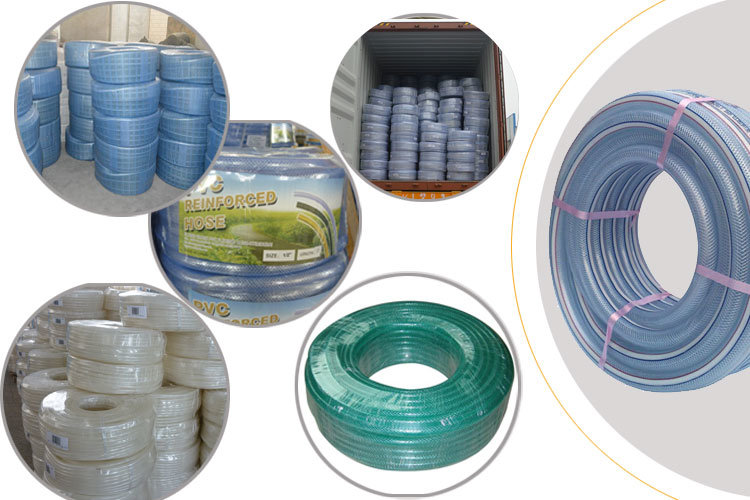 High Quality PVC Fiber Reinforced Hose for Irrigation and Conveying Water, Oil or Powder