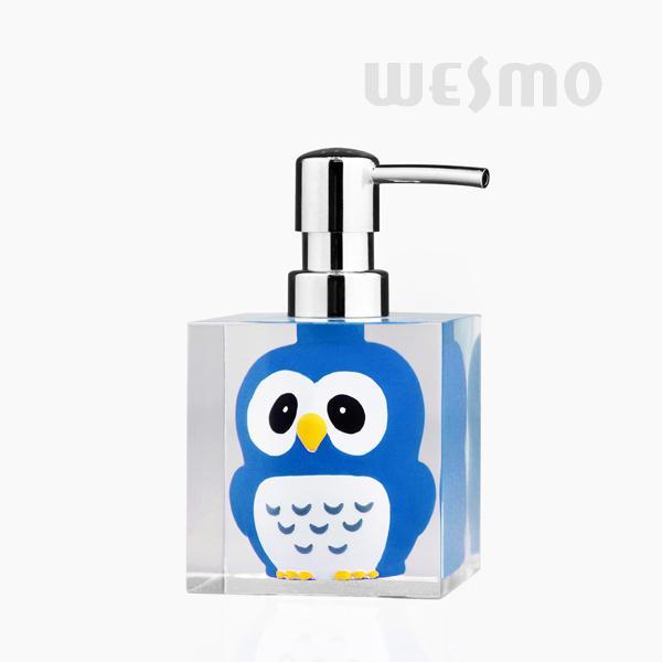 Children Style Polyresin Soap Dispenser