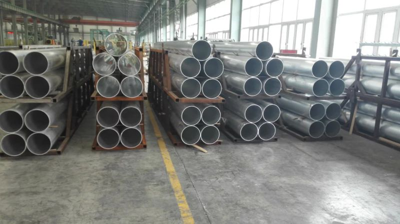 Extruded Aluminum Alloy Tube 6063 T5 for Pipeline