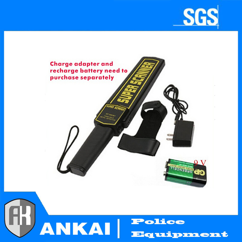 2017 Best Quality Super Scanner Hand Held Metal Detector for Hotel, Police Qovenment
