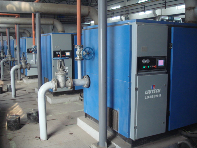 Atlas Copco - Liutech 5.5~560kw Screw Air Compressor