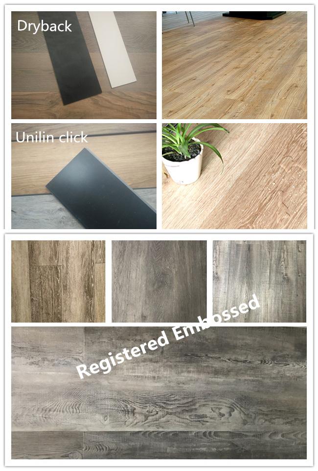 Rustic Wood Surface High Quality PVC Vinyl Floor