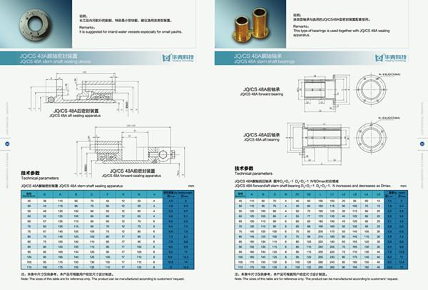 Marine Stern Shaft Seal Device (JQ/CS 48A)