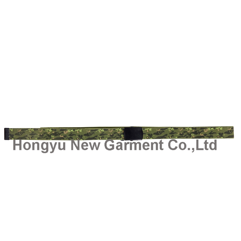 Alloy Buckle Webbing Nylon Fabric Waist Belts (HY-WB011)