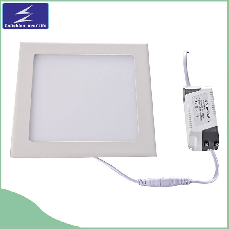 18W 85-265V Ultra-Thin Square LED Panel Recessed Downlight