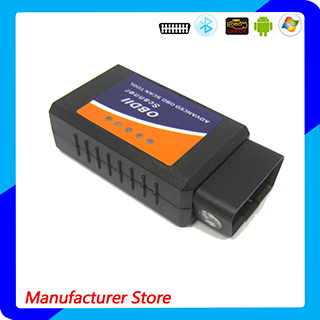 2016 Hottest Works on Android Torque Elm327 Bluetooth Elm 327 OBD2 / OBD II Bluetooth Auto Car Diagnostic Scanner
