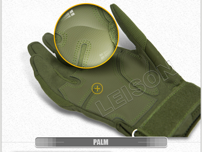 Tactical Gloves of Excellent Fiber and Leather Material