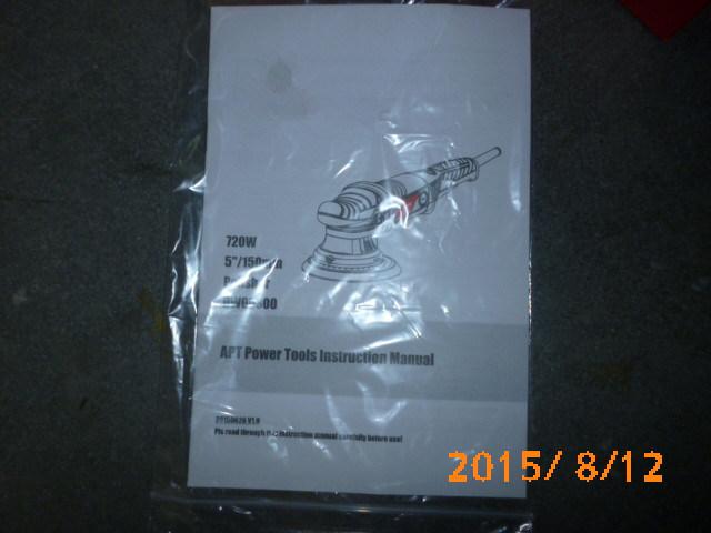 OEM Service 900W 21mm Orbit Dual Action Polisher