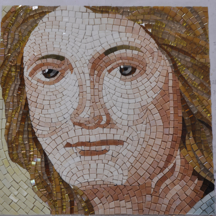 Mosaic Mural Mosaico Picture God Temple