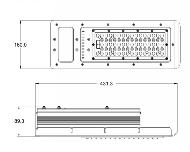 Hot Sale 90W Solar LED Street Light Outdoor DC12V DC24V