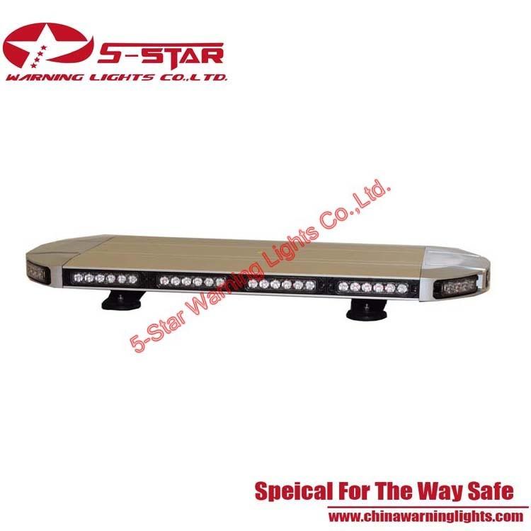 ECE R65 Super Bright 3W Police Amber LED Lightbar