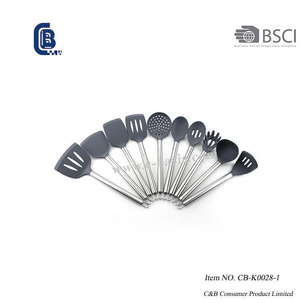 11PCS Silicone Kitchen Utensils, Silicone Kitchen Tools for Non Stick Cookware